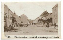 Ethe - Vue Du Village - Avant La Destruction Par Les Boches - Circulé: 1920 - 2 Scans. - Virton