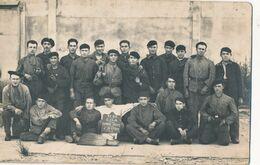 CP : Portrait Militaire - Groupe Du 35e RA - C.O.A.4ème Section  (BP) - Krieg, Militär