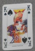 Giovanni Trapattoni ( Fiorentina )  - Carta Da Gioco 5,8 X 8,8 Cm.  Calcio 2000 /Sul Retro Pubbl. Kinder - - Trading Cards