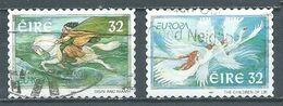Irlande YT N°1005-1006 Europa 1997 Contes Et Légendes Oblitéré ° - 1997
