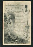 CPA - Les Combattants De Dounoux - Campagne 1914-15-16 - A La Mémoire De Nos Compatriotes Morts Au Champ D'Honneur - Guerra 1914-18