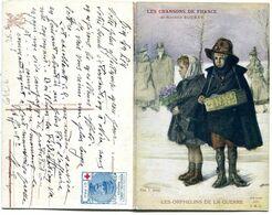 Carte Double - LES CHANSONS DE FRANCE - Les Orphelins De La Guerre - War 1914-18