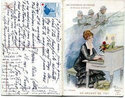 Carte Double - LES CHANSONS DE FRANCE - En Rêvant De Toi - War 1914-18