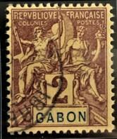 GABON 1904/07 - Canceled - YT 17 - 2c - Used Stamps