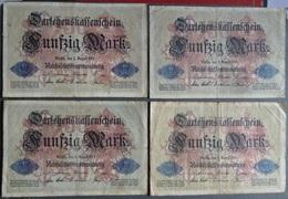 Lot De  37  Billets  D' Allemagne  Divers - 1871-1920 : Empire Allemand ( Dans L'état D'usage ) - [ 2] 1871-1918 : Empire Allemand