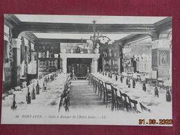 CPA - Pont-Aven - Salle à Manger De L'Hôtel Julia - Pont Aven