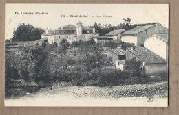 CPA 54 - REMEREVILLE - Réméréville - Le Vieux Château - TB PLAN EDIFICE + Maisons Village à Droite - Andere Gemeenten