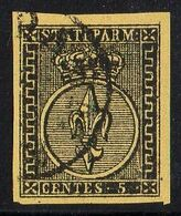 PARME ( POSTE )  Y&T N°  1  TIMBRE  OBLITERE , A  SAISIR . Rda - Parma