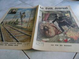 Le Petit Journal 1912 Arrestation à Choisy Le Roi Du Bandit Bonnot Légende Du Gangtérisme/ Accident D'avion Védrines - Le Petit Journal