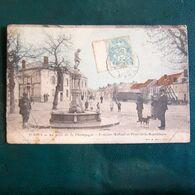 Fontaine Maflard Et Place De La République - Vertus