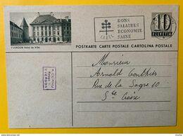 9505 -  Entier Postal Illustration Yverdon  Yverdon 12.06.1957 - Stamped Stationery
