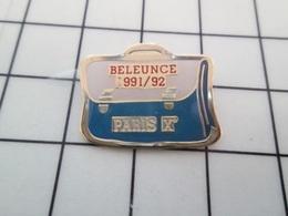 613b Pins Pin's / Rare & Belle Qualité THEME ADMINISTRATIONS / CARTABLE ECOLE BELEUNCE PARIS Xe 1991-92 - Administrations