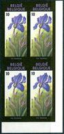 13190431 BE 19900303; Floralies Gantoises, Buzin;  Bl4 ND Cob2357-59 N°349à352 - Bélgica