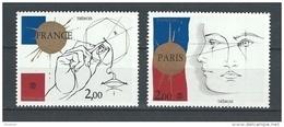 "FR YT 2141 & 2142 "" Philexfrance 82 "" 1981 Neuf** - Unused Stamps"