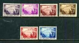 Belgique COB 356/61 Série Incomplète (*) - Unused Stamps