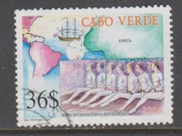 CABO VERDE, USED STAMP, OBLITERÉ, SELLO USADO. - Isola Di Capo Verde