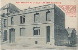 Pas D E  Calais : SAINT  OMER , Rue D'  Arras , Maison D  Habitation - Saint Omer