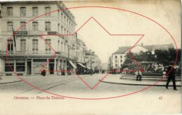 Place Du Theatre - Le Theatre Royal - Rue D'Ouest.....Oostende - Ostende - Ostend (DOOS 5) - Oostende
