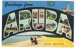 ARUBA-20   ARUBA : Greetings From - Aruba
