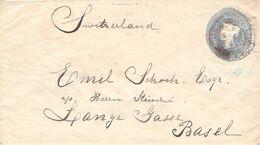 GROSSBRITANNIEN - BRIEF (1896?) NACH BASEL  /ak658 - 1840-1901 (Regina Victoria)