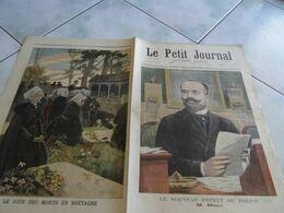 Le Petit Journal 1897 Prefet De Police Blanc / Tradition Le Jour Des Morts En Bretagne / Joseph Vacher L'eventreur - 1850 - 1899