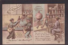 CPA Léo Charles Patriotique écrite Pharmacie Alcoolisme Pot De Chambre Clistère - Patriotic
