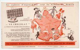 - BUVARD LE CHOCOLAT - Docteur RICHET - Docteur GINESTE - - Cocoa & Chocolat