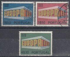 PORTUGAL 1969 Nº 1051/53 USADO - Used Stamps