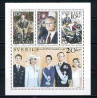 SUEDE   Y&T   1915 - 1918  XX   --  Parfait état. - Unused Stamps