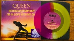 Queen - 45t Vinyle Violet / Jaune - Bohemian Rhapsody - Neuf & Scellé - Collector's Editions