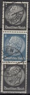 DR S 174, Gestempelt, Hindenburg 1939 - Se-Tenant