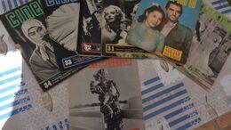"""LOT DE 7  REVUES ITALIENNES """"CINEMA """" N° 31-32-33-34-38-47-146  1937-1938 - Kino"""