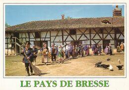 Folklore Bressan  Le Pays De Bresse  Cortège De Fête à La Ferme  Michel Brazier - Unclassified