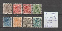 Denemarken 1921 - Yv. 137-139-139-140-142-144-145-146 - Michel 121-146-122-147-148-149-126-127 Gest./obl./used - 1913-47 (Christian X)