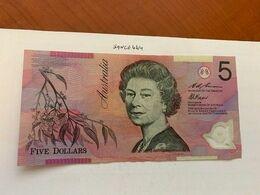 Australia $5 Circulated Polymer Banknote 2003 - Overheidsbank Uitgaves 1910