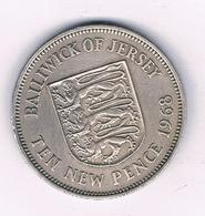 10 NEW  PENCE 1968 JERSEY  /6842/ - Jersey