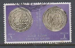 QATAR, USED STAMP, OBLITERÉ, SELLO USADO. - Qatar