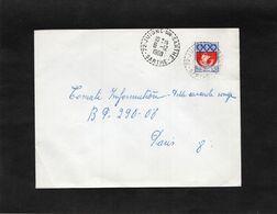 LSC 1968 - Cachet  Perlé  JUIGNE SUR SARTHE  (Sarthe)  Sur YT 1354B - 1961-....