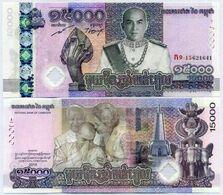 Cambodia - 15000 Riels 2019 Comm. Pick New UNC Lemberg-Zp - Cambogia