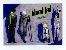 CP Pub Allemande Neuve. Manga Blood Lad By Yuuki Kodama. - Comicfiguren