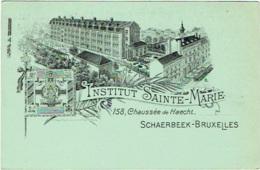Schaerbeek-Bruxelles. Institut Sainte-Marie. Chaussée De Haecht. - Schaerbeek - Schaarbeek