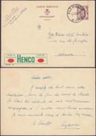 Belgique 1951-  Carte Postale Publibel Nº 910 De Flémalle-Grande à Destination Loncin.....DD) DC-9163 - Publibels