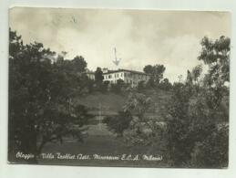 OLEGGIO - VILLA TROLLIET ( ISTITUTO  MINORENNI E.C.A. MILANO ) VIAGGIATA  FG - Novara