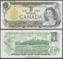 CANADA P-85c  1 DOLLAR  1973  UNC !!!!!!!!!! - Canada