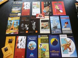 Folders Pub Tintin - Ansichtskarten