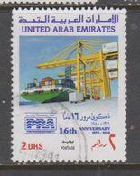 EMIRATOS ARABES, USED STAMP, OBLITERÉ, SELLO USADO. - Emirati Arabi Uniti
