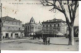 """ALAIS """" Place De La République """" Animées  N°25 - Alès"""