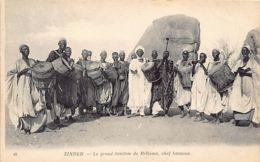 Niger - ZINDER - Le Grand Tamtam De Bellama, Chef Haoussa - Ed. Neurdein 49. - Niger