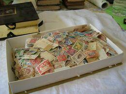 TIMBRES DES ANCIENNES COLONIES FRANCAISES Avant Indépendance - Carton De 1 Kg 500 - Kilowaar (min. 1000 Zegels)