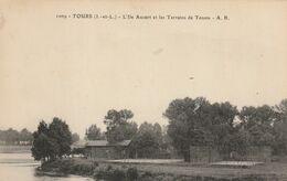TOURS : L'île Aucart Et Les Terrains De Tennis. - Tours